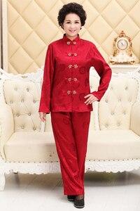 Шанхай история с длинным рукавом Китайская традиционная одежда Китайский кунг-фу форма для Тай Чи для женщин Artes Marciais 2 цвета