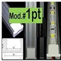 3-10pcs/lot ,0.5m/pc, LED aluminum profile for 5050 5630 led strip,milky/transparent cover for 12mm pcb,tape light housing
