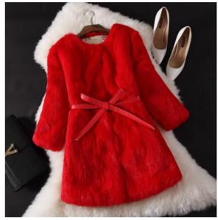 picture D'hiver Picture Nouvelle Manteau Chaud Color Version Femmes Épaississement Des 2018 Mode Coréenne Lapin Fourrure Naturel Coton Pur De Color aqnZU