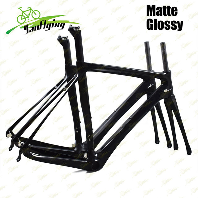 New Carbon Road Bicycle Frame Cycling Racing Bike Oem Bb386 Frame