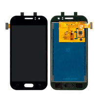 20Pcs/Lot LCD Assembly For Samsung Galaxy J1 Ace J110 AAA Display Touch Screen Digitizer Adjustable Brightness Free DHL