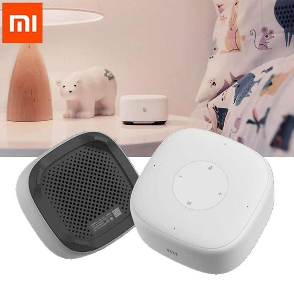 Xiaomi Mini 2.4g Wifi Voice Smart Speaker Draadloze Draagbare Speaker Bluetooth 4.1 Met 4 Microfoon for a Smart home controller