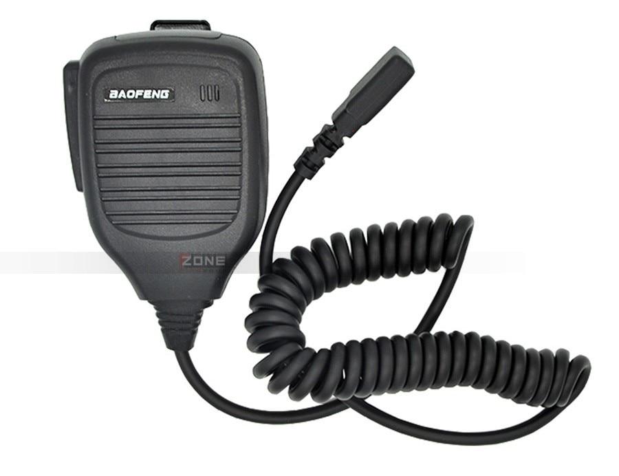Mini ombro handheld microfone para baofeng walkie
