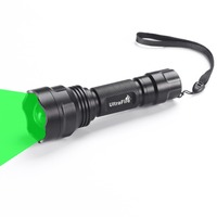 UltraFire Hunting Tactical Flashlight XP E2 520 535nm Zoomable Flashlight Torch Camping Flashlight LED Flashlight luz Flash Ligh