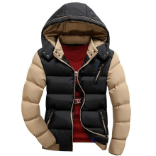2019 New Arrival Men Jacket Warm cotton coat mens casual hooded jackets Handsome thicking Parka Plus size XXXXL Coats