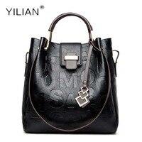 Women Handbag Women Bags PU Leather Luxury Designer High Capacity Handbag Alphabet 2017 Hot Sell Shoulder