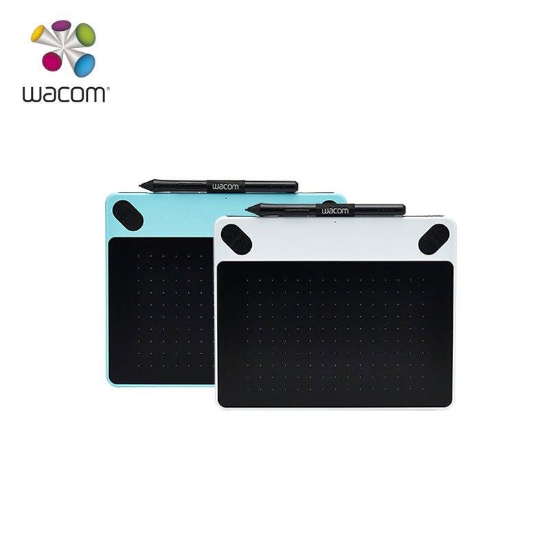 Original Wacom Intuos Ziehen CTL-490 Grafik, Zeichnung, Tablet Digitale Tabletten 2048 Druck Ebenen + Freies Geschenk Pack + 1 Jahr garantie