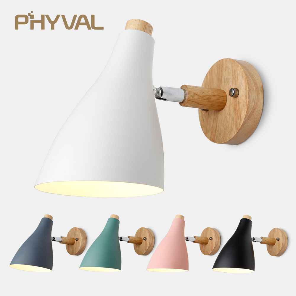 LED Wall Lamp Creative Nordic Wall Light Dining Room Restaurant Corridor Cafe Wall Lamp Wall Sconce Bedroom Beside Lamps Hotel