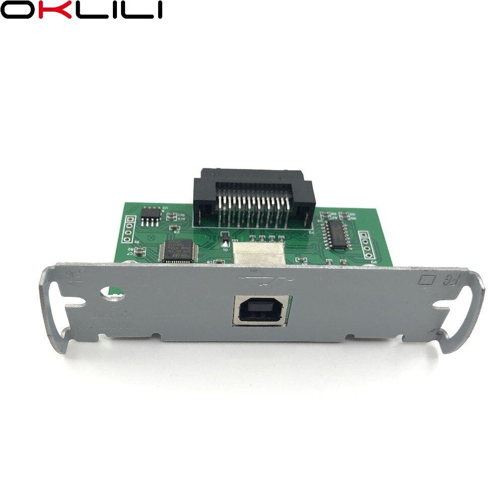 US $176 5  10PC X ORIGINAL NEW C32C824131 M148E USB Port Interface Card for  Epson TM T88III TM U220 TM U288 T88III U220 U288-in Printer Parts from