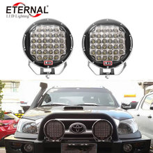 цены 2pcx96W ARB LED driving headlight work lamp for off road 4x4 Wrangler KIA Sorento SUV trucks tractor machine excavtor pick ups