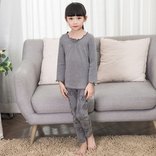 High Quality Autumn Childrens Underwear Set Winter Clothing Girls Children Sets Clothes Pajamas Warm Cotton Kids
