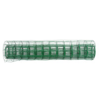 10 2M Length Garden Fence PVC Coated Metal Wire Fencing Green Mesh Fence For Garden Lawn