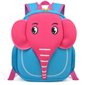 Cute Cartoon Elephant Waterproof Kids Backpack Kindergarten Baby Shoulder School Bags Children's Backpack for Girls Boys 4 color