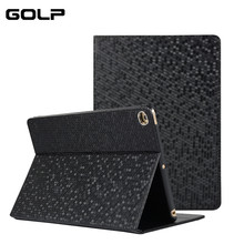 купить For iPad Air 2 Air 1 Case GOLP Ultra Thin Slim Matte Smart Cover for iPad Air Case Auto Sleep/Wake Flip Stand for ipad 9.7 2018 дешево