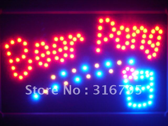 led094 r Beer Pong Get Your Ball Wet Led Neon Bar Sign Wholesale Dropshipping