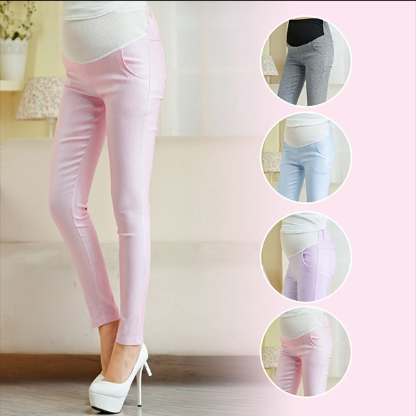 572e7e5fc2128 Hot sale Fashion Imitation Snake Leather Maternity Pants High-waisted Belly  Trousers Spring Summer Maternity Clothing plus size