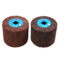 Professional Electric Rotary Tool Accessories Grinding Wheel Nylon Scouring Pad Diameter 120 Polishing Wheel For Metal