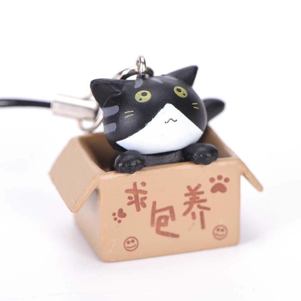 Jinhf 1 Cái Tìm Cách Nuôi Dưỡng Mèo Phong Cách Bụi Cắm Dễ Thương Mèo Hoạt Hình Điện Thoại Di Động Bụi Cắm 3.5 Mm
