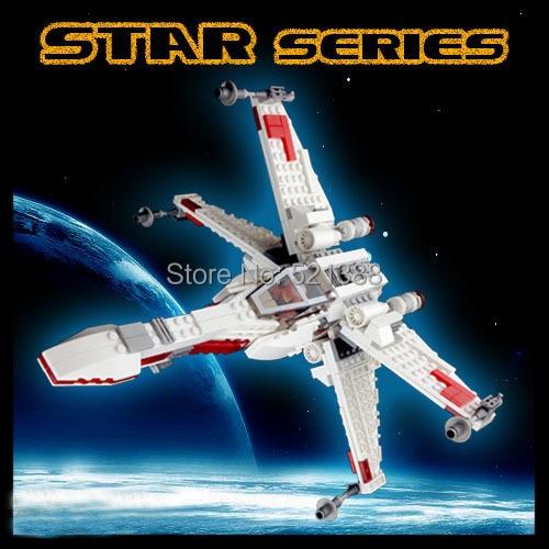 DIY Toys for children star wars X WING china brand b688 Building Blocks self locking bricks