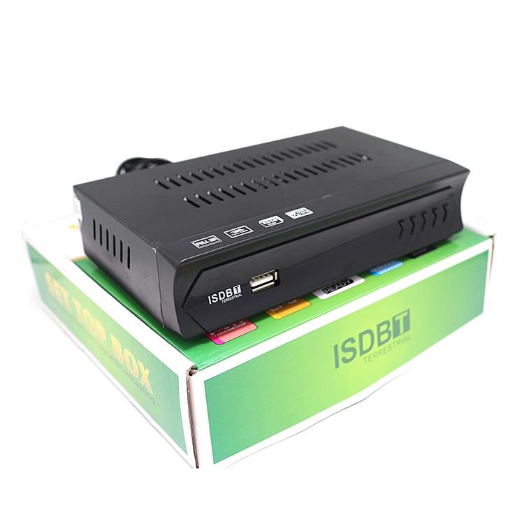 2019 récepteur TV HD numérique ISDB-T TV Tuner à recevoir MPEG4 1080 p HD ISDBT Tuner pour brésil pérou argentine chili récepteur vidéo