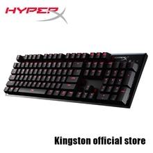 Kingston HyperX сплав кадров в секунду Механическая игровая клавиатура Cherry MX механические клавиши