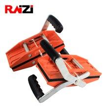 Raizi 1 זוג ידיים הכפולה גרניט לשאת מלחציים 0 54mm זכוכית גרניט אבן טיפול הרמת כלים