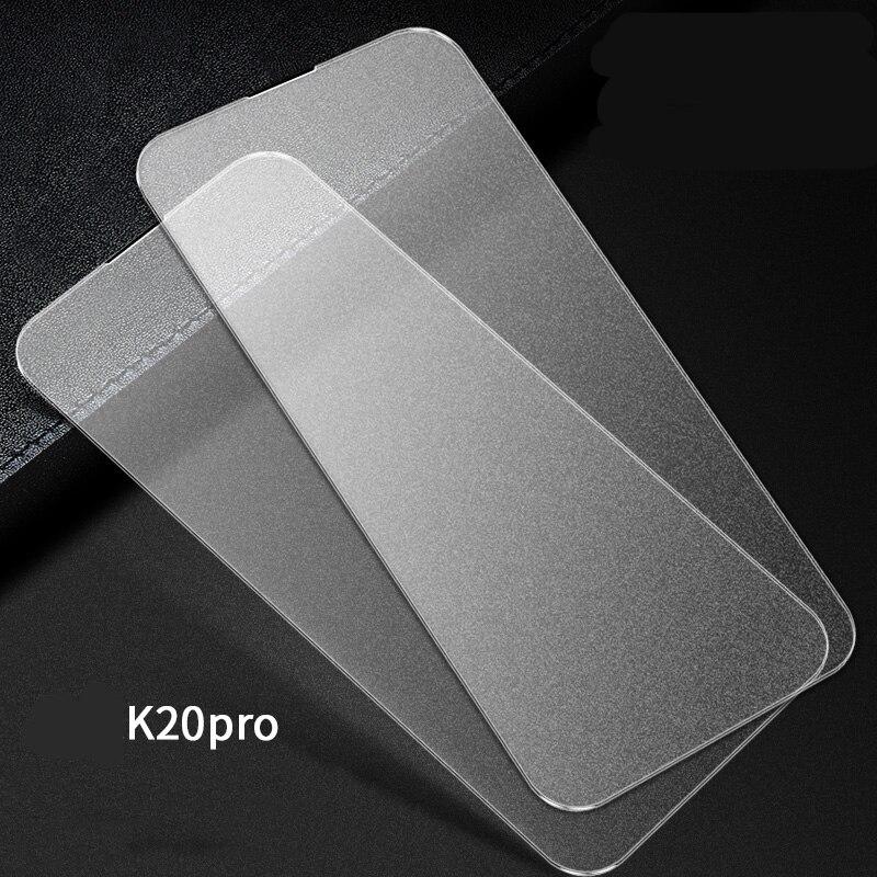 MicroDate 100 pièces pour XiaoMi Redmi K20 K20 Pro Note 7 7pro 7 6 6pro couverture complète mat verre trempé givré Film de protection d'écran