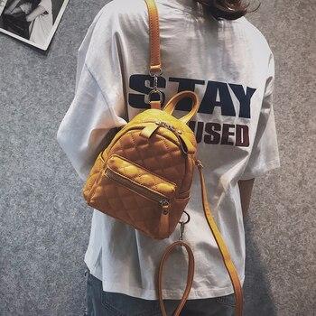 706e679bdf40 Женский рюкзак, новый модный Повседневный женский рюкзак из искусственной  кожи для девочек-подростков,