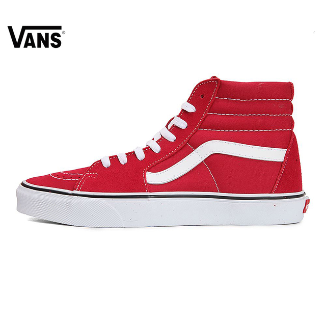 Original New Arrival Vans Men s   Women s Classic SK8-Hi Skateboarding  Shoes Sneakers Canvas Comfortable be2170b906