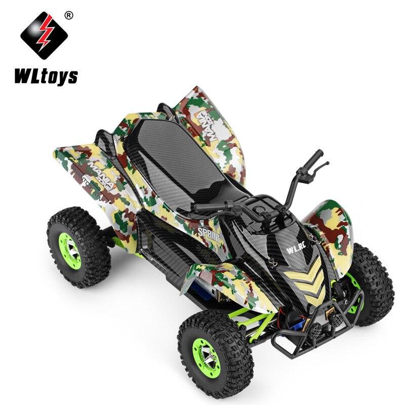 ორიგინალური Wltoys 12428-A 1/12 2.4G 4WD 50km / - დისტანციური მართვის სათამაშოები - ფოტო 2