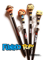 Imperfect Funko POP Pen Topper 17cm Horror Movies Child S Play Chucky Nightmare The Texas Chainsaw