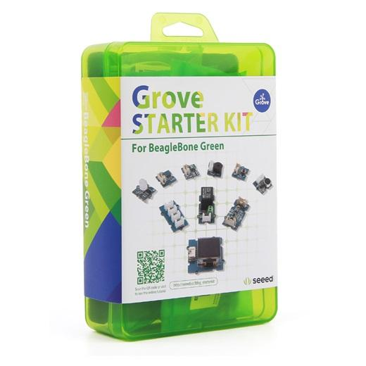 Electronic Components & Supplies 110060131 Module Seeed Grove Starter Kit For Seeedstudio Beaglebone Green Be Shrewd In Money Matters