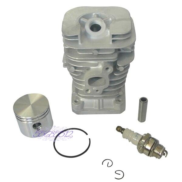 41mm Cylinder Piston Kit Fit PARTNER 350 351 370 390 420 Poulan 220 221 260 1950 цена