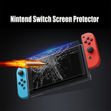 2PCS For Nintend Switch Screen Protector 9H Tempered Glass 3D Protetor Film Cover Nintendo_switch Console Consola NS Accessories tempered glass ultra clear full hd screen protective film surface guard for nintend switch ns console protector cover skin