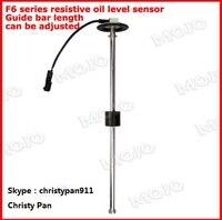 free shipping! OEM MJ F6 Series 450mm 0 190ohm output signal 2% fuel or water liquid tank level sensor