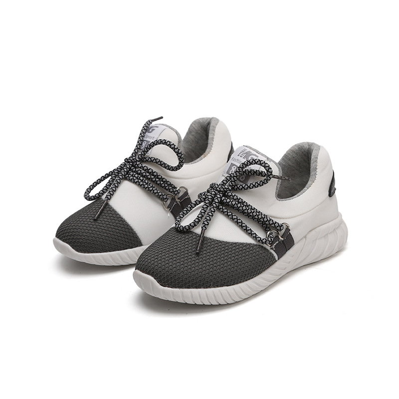 2019 Summer Toddler Boys Girls Shoes High Help Sneakers Kids Mesh Shoes Spring Children Fashion School Sport Shoes