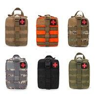 Wandern EDC Molle Tactical Pouch Tasche Notfall Erste Hilfe überleben Kit Tasche Reise Outdoor Camping Klettern Medizinische Kits Taschen-in Beutel aus Sport und Unterhaltung bei
