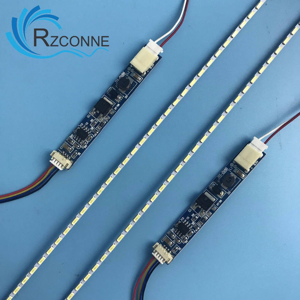 245x2.0mm Strip For 11 Inch  LCD Laptop Dimable LED Backlight Lamps Adjustable Update Kit  Can Be Cut By Every 3 Lamps 2pcs
