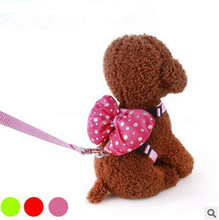 Dog Necklace Pet Clothes Puppy Traction Suit Cat Pussy Harness Leash Pulling Rope Pets Collar Supplies