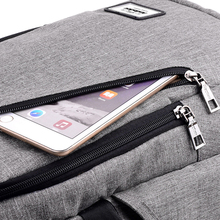Fashion backpack with usb charger for computer and mobile