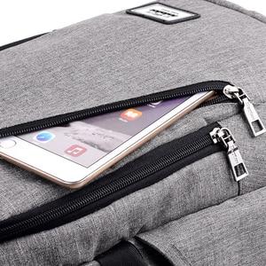 Image 5 - Mode mann laptop rucksack usb lade computer rucksäcke casual stil taschen große männliche business reisetasche rucksack