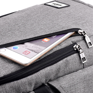 Image 5 - אופנה איש מחשב נייד תרמיל usb טעינת מחשב מזדמן תרמילי סגנון שקיות גדול זכר עסקי נסיעות תיק תרמיל