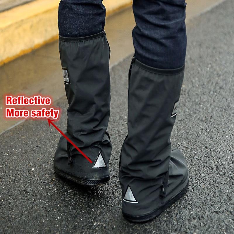 fd1b919d1df 100% Sapatos de Ciclismo Cobrir Homens Mulheres Desporto Ao Ar Livre À  Prova D  Água Não deslizamento Tampa Da Sapata Da Chuva Para Moto Pesca  Galochas ...