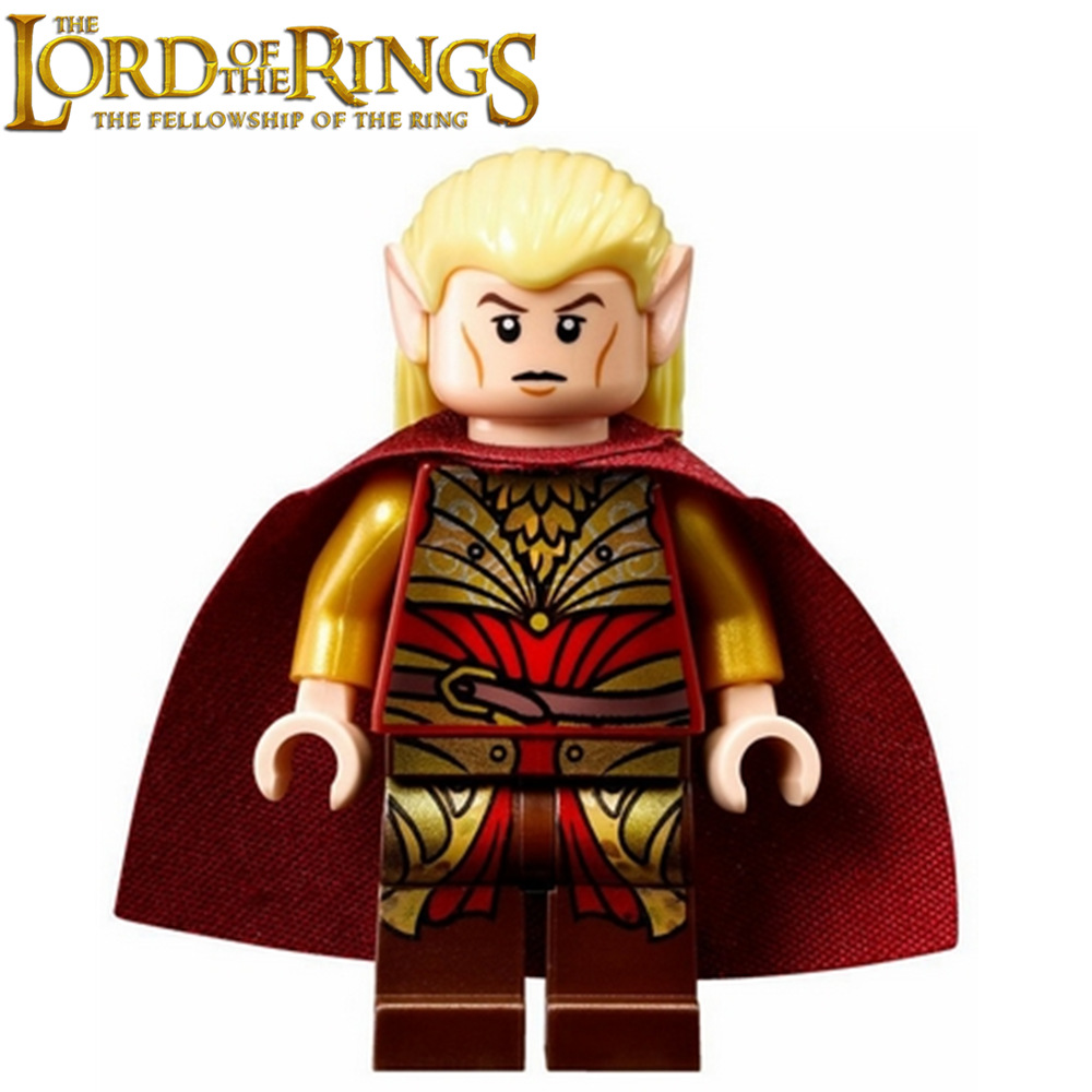 The Lord of the Rings Hobbit lor020 Haldir Battle Helm s Deep Commander minifig DIY Building