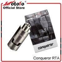 Original Wotofo Conqueror RTA Tank 22mm Silver Dual Postless Deck Adjustable Airflow Control Conqueror Atomizer VS