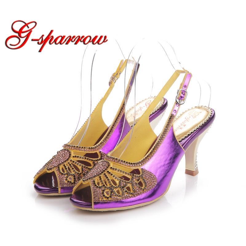 Butterfly Design Wedding Shoes Spring Summer Dress Sandals