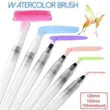 Portable Paint Brush Water Color Brush Pencil Soft Watercolor Brush Pen For Beginner Painting Drawing Art Supplies недорого