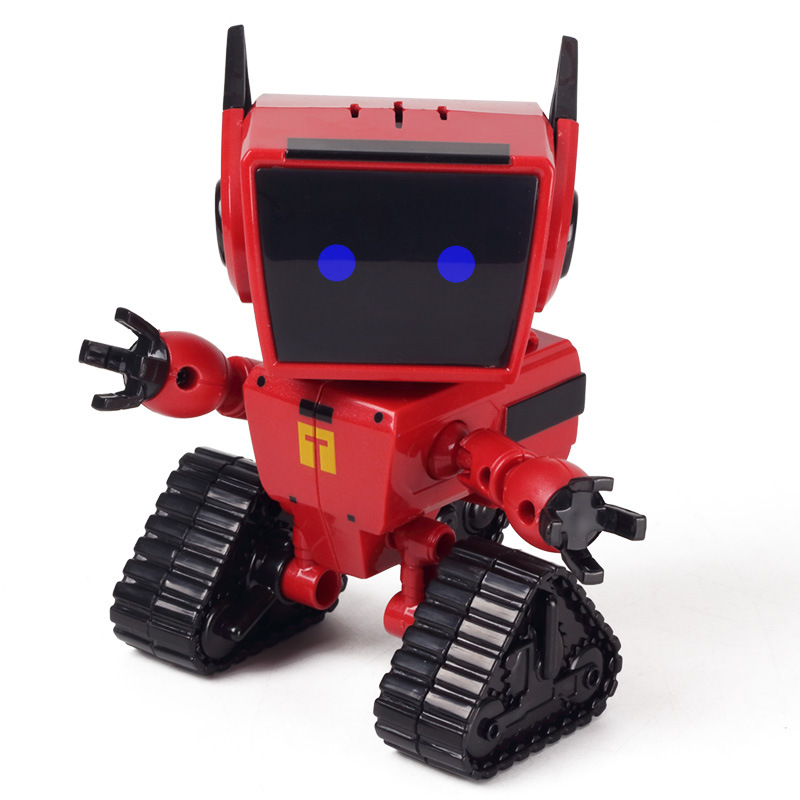 Electronic Sound Light Robots Toys Anime Action Figure Toys For Boys Funny Antistress oyuncak Kids Plastic Robot Toys tourist bus sound light and sound passenger train alloy lifelike sound and light double decker bus kids toys