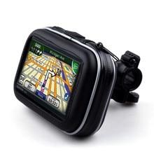 5 дюймов Велосипедный Спорт GPS приборы для мотоциклов держатель Водонепроницаемый сумка с кронштейн держатель телефона автомобиля accessoreis