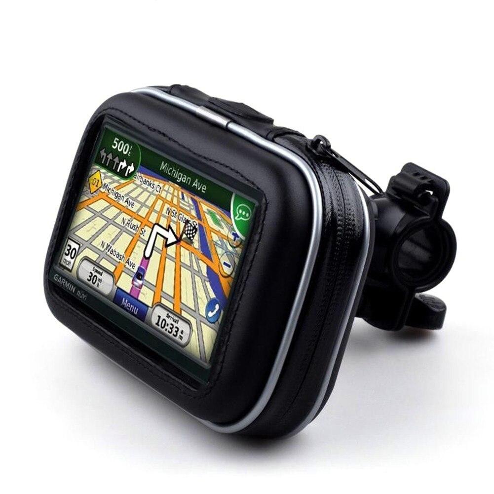 5 Pouce Vélo Moto GPS Titulaire Boîtier Étanche Sac avec Support Support de Téléphone De Voiture Accessoreis